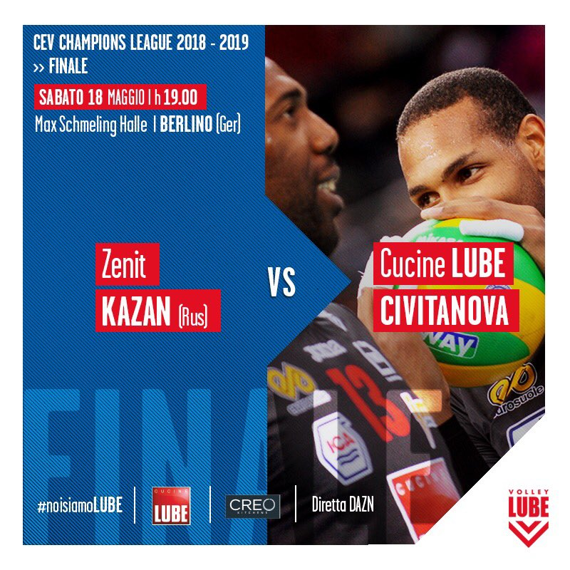 A.S. Volley Lube Civitanova's photo on game day