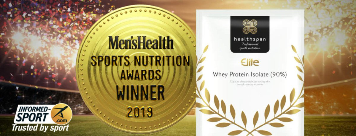 Special Offer | £35 Off - 1 WEEK ONLY! Whey Protein Isolate (90%) now £9.99 for 30 sachets. Voted @MensHealthUK Best Protein Powder of 2019. Buy Now > bit.ly/2Lv5XF3