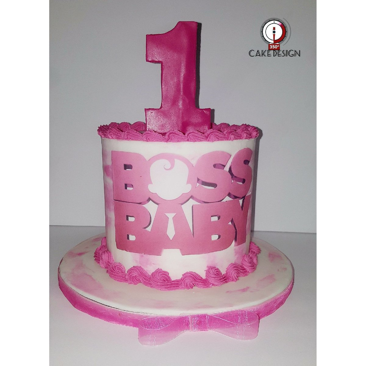Boss Baby Smash Cake Girlboss Birthday Birthdaygirl