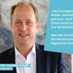Image for the Tweet beginning: Das #Grundgesetz steht für Demokratie,