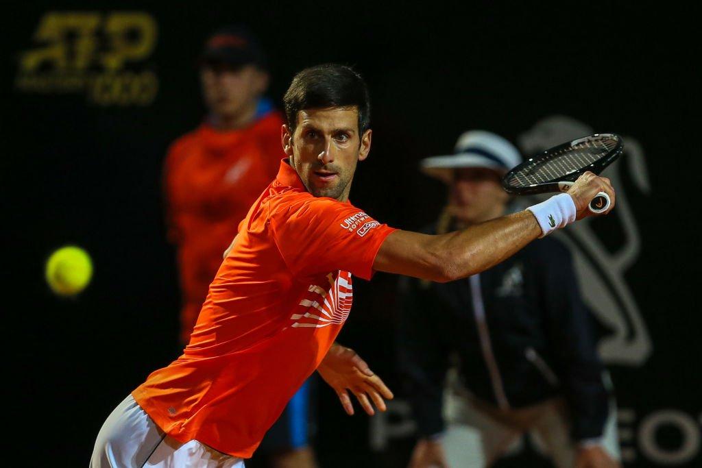 Novak Djokovic and Rafael Nadal are through to the Italian Open semi-finals In full: https://bbc.in/2VJ18xM#bbctennis #ItalianOpen #Djokovic #Nadal