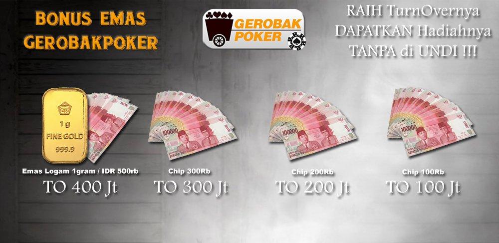 Emas VIP GerobakPoker