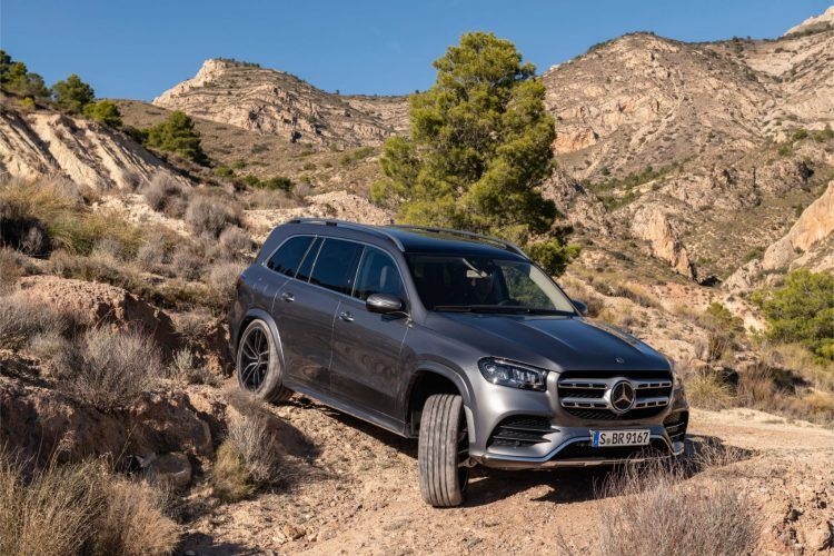 The new #GLS also features @MercedesBenz' sophisticated E-Active Body Control, an active suspension system paired with the aforementioned 48-volt #technology.  http://ow.ly/hi5J50ug8G5