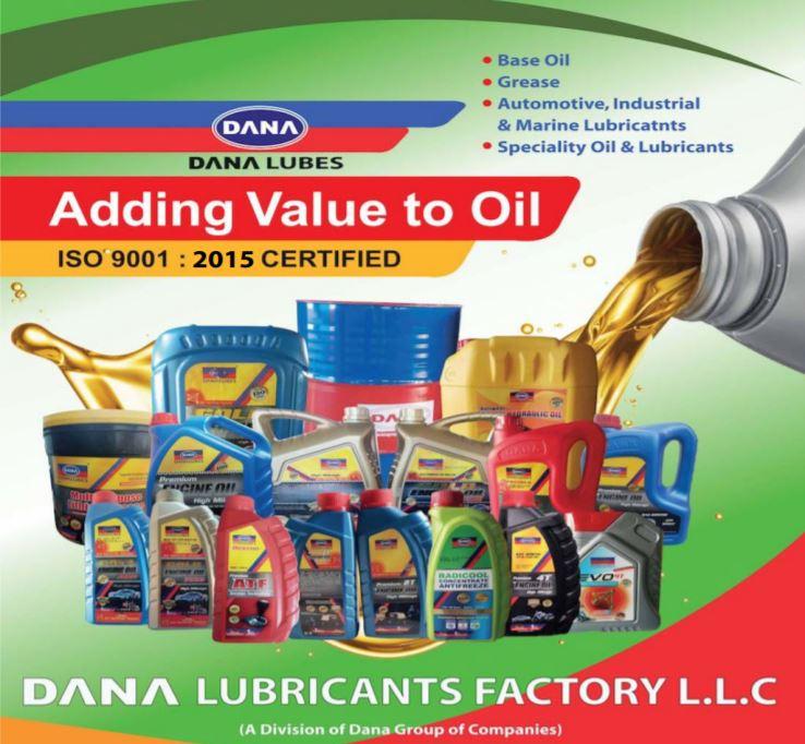 DANA LUBES : Fabricant d'huile de lubrifiant basé aux Emirats Arabes Unis. dans - - - Gros plan D61rGP3XYAAsmi9