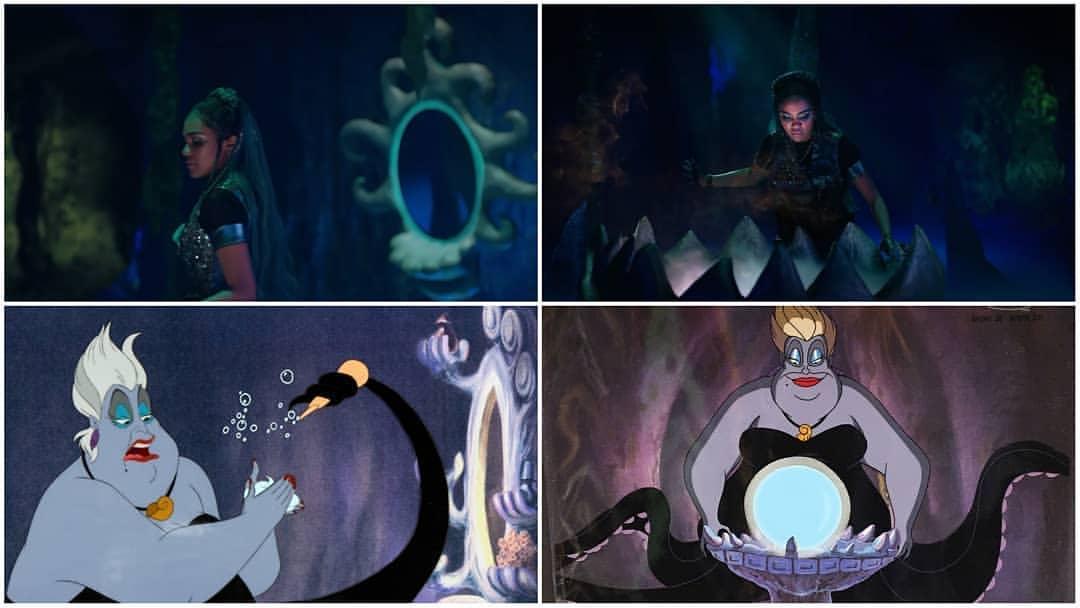 Did anyone notice that Uma is in Ursula&#39;s lair? Credits to @descendantsthree  #Descendants3 #D3Deets @chinamcclain<br>http://pic.twitter.com/KBJNnlBJce