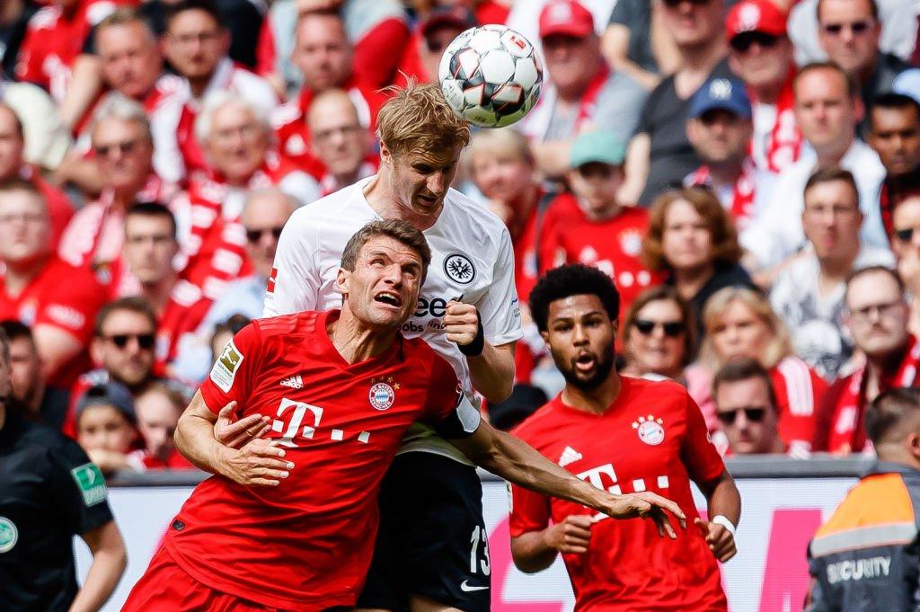 BBC Sport's photo on Eintracht Frankfurt