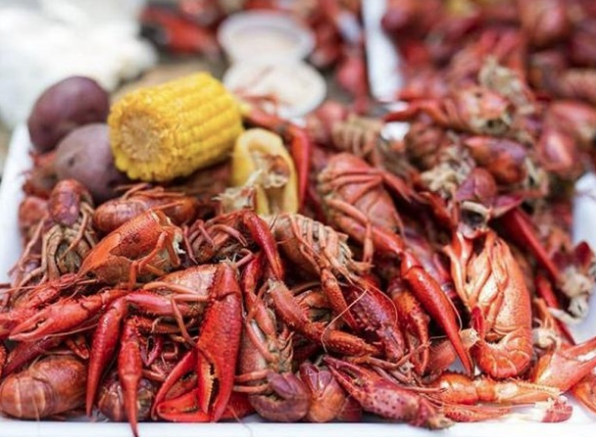 #CrawfishBoil time again! Saturday, May 25 from 4-6PM pile it on with #Louisiana Mud Bugs, Peel n Eat #GulfShrimp by the half pound. To top it off, we got $6 #HurricaneCocktails and $5 #AbitaBeer specials and #live #music!