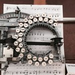 Image for the Tweet beginning: This Is A Music Typewriter