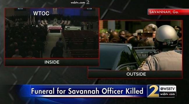 Savannah Police Sgt Kevin Kevin Ansari : HAPPENING funeral