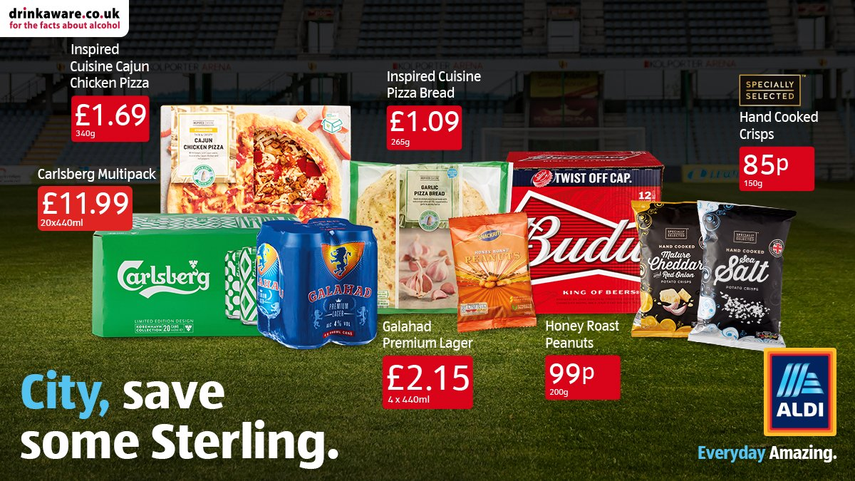 Stock up on all the big game essentials at Aldi ahead of the final ⚽. Where will you be watching?