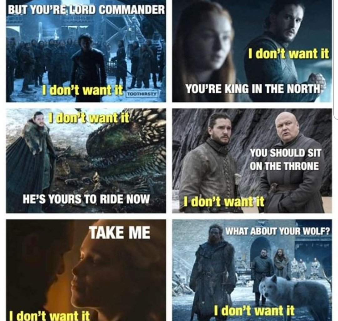 #GameofThrones Does anyone know what #JonSnow  wants at this point?<br>http://pic.twitter.com/Yz1Y8q9xAM