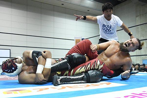 """NJPW: """"Best of the Super Jr. 26"""" Días 5 y 6 Dragon Lee y Bandido suman 4"""