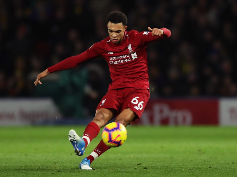 🎯 Trent Alexander-Arnold: 12 assists this season  🎯 Jesse Lingard: 10 assists his whole career  🙌🏽The difference.