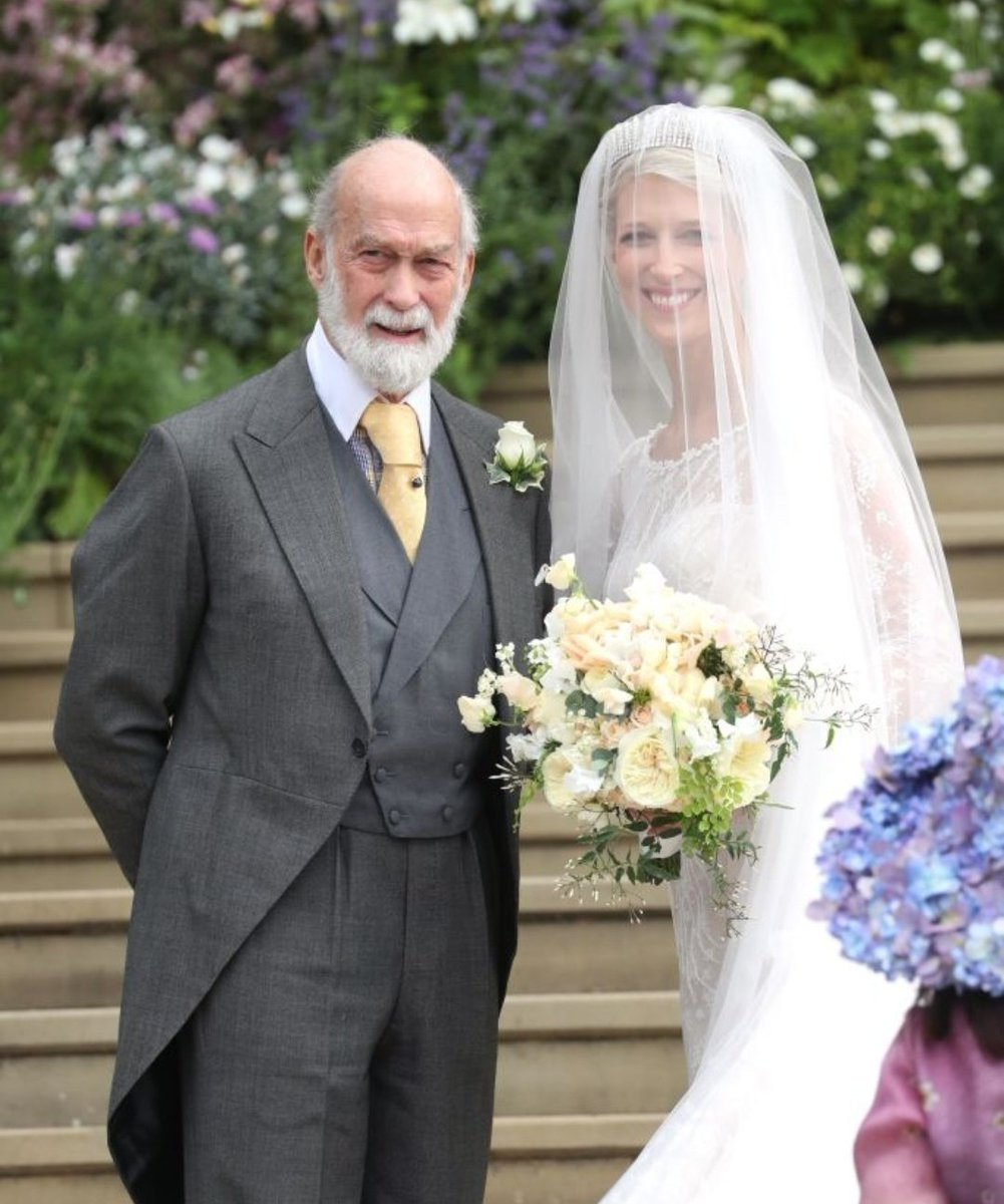 8cb2246cff Lady Gabriella with her dad Prince Michael of Kent  RoyalWedding pic.twitter .com qC8tLCUK0d