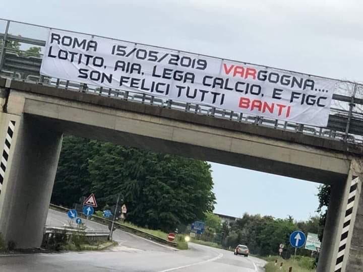Vergogna. #lotito #aia #legacalcio #figc #banti #LazioAtalanta #vergogna https://t.co/ZRMrHEJ8kF