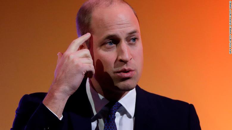 CNN International's photo on Prince William