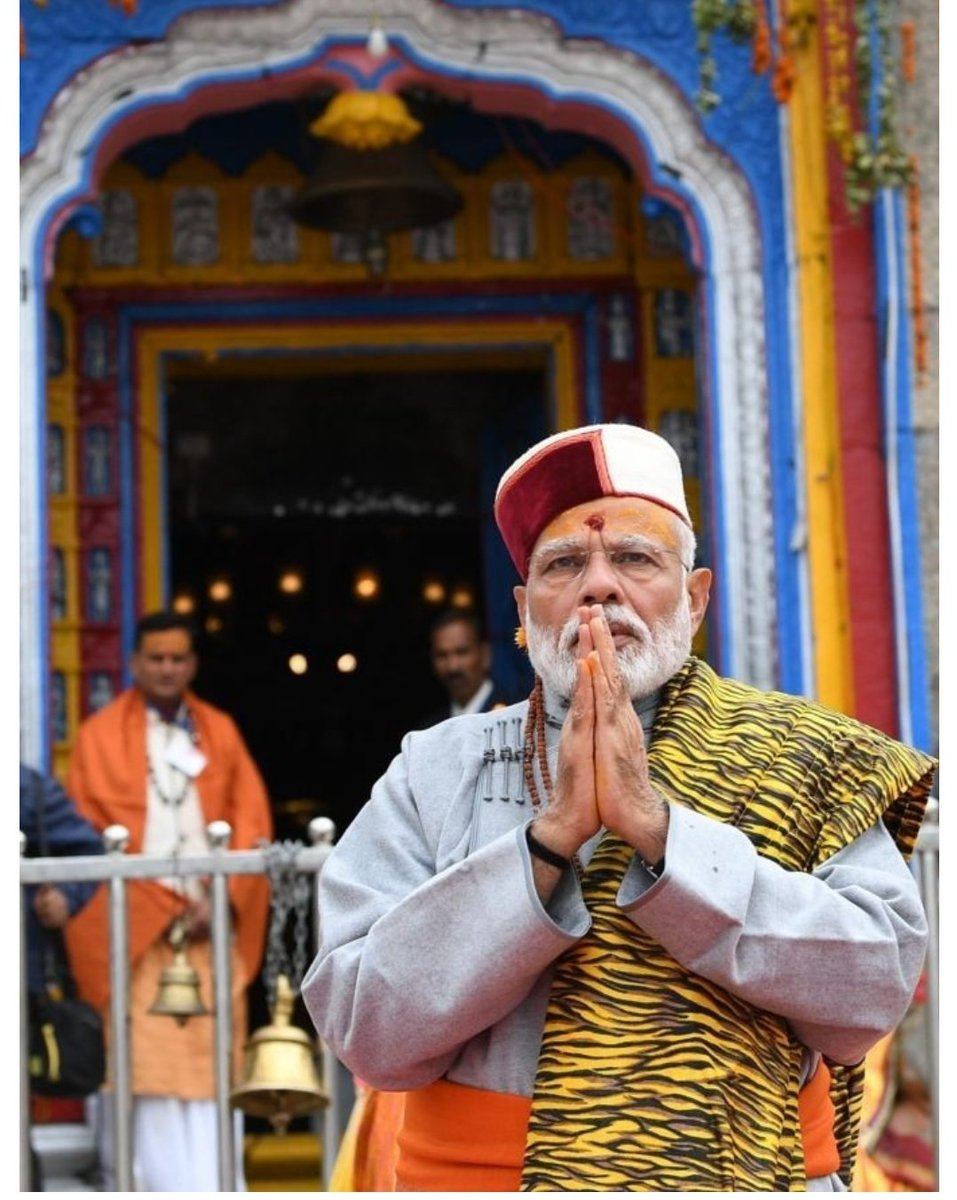 """I remember sir,In your Oct2017 #Kedarnath visit,You said that the blessings of Kedarnath will lead the government to """"Fulfil the Aspirations of Every Indian  by 2022"""". Now sir just few days left for oath & to continue work for fulfilling those aspirations. More blessings Sir 🙏"""