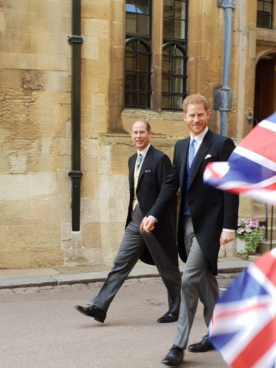 Prince Edward Wedding.Ingrid Seward On Twitter Prince Harry And Prince Edward