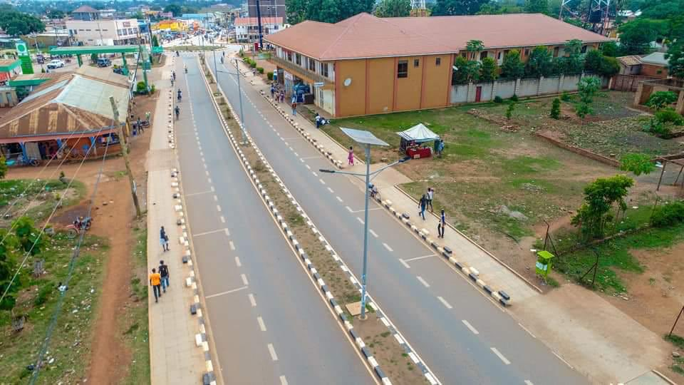 Lira municipality today, its roads are done, a market built! And people power and fdc radicals in Kampala are oblivious of what is taking place in the country and promise solutions where there are no problems! Jesus save our country from this ignorance <br>http://pic.twitter.com/xuFyeK2Msj