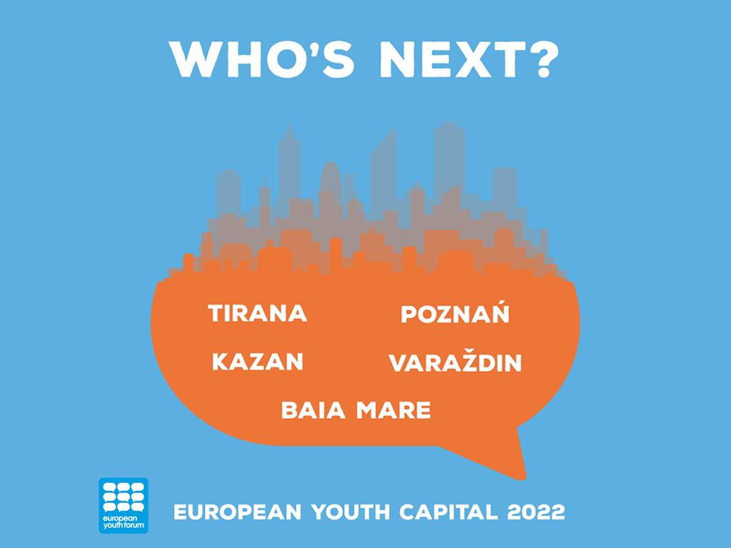 Image for the Tweet beginning: What's the next #YouthCapital? @opens2019 will