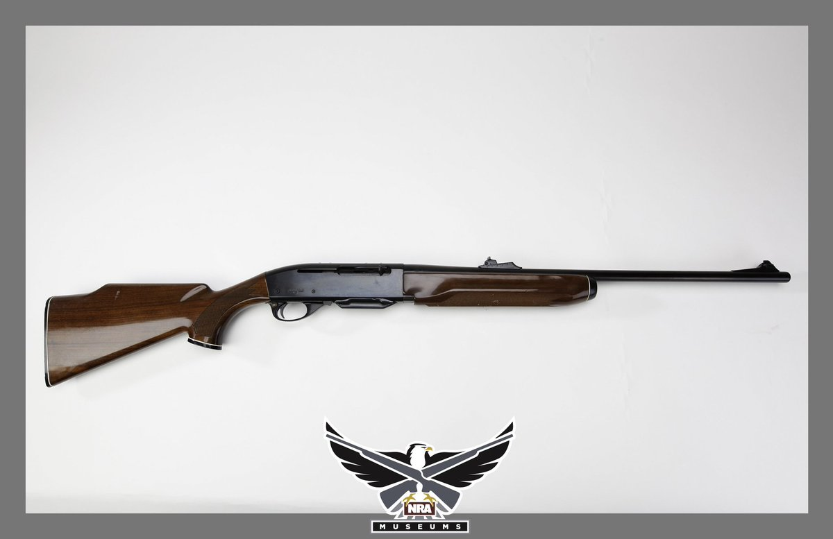 #GOTD - Remington Model Four Rifle. The Model Four was available in several chamberings ranging from 6mm Rem. to 7mm Express, but this gas-operated, semi-auto design wasn&#39;t as popular with hunters. Caliber: .30-06. Production Date: c. 1987. #history #nramuseums<br>http://pic.twitter.com/jvGvDC5gaz