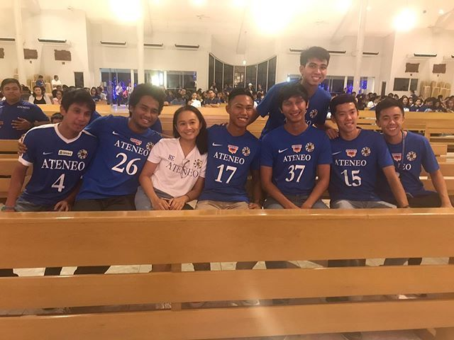 They are getting recognized tonight. @ateneomft and @ateneo.volleyball about to be celebrated here with a Thanksgiving Mass. bit.ly/30t3qQm