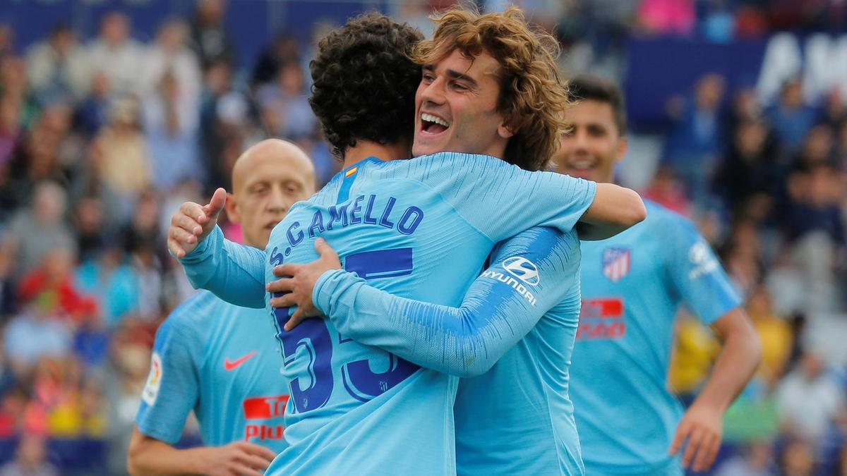 Antoine Griezmann signs off at #AtleticoMadrid with 2-2 draw against Levante | https://t.co/j8ZIcYI0ce https://t.co/c7Ru7TZJaO