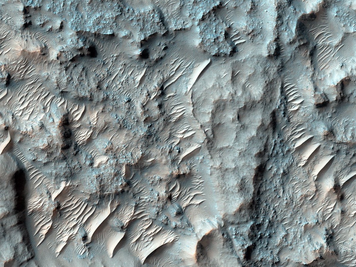 ‪Bunnen av krateret Cross‬ (Mars, NASA)