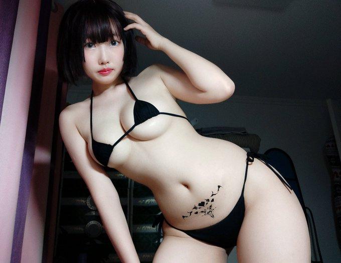コスプレイヤー是小欢YAのTwitter自撮りエロ画像70