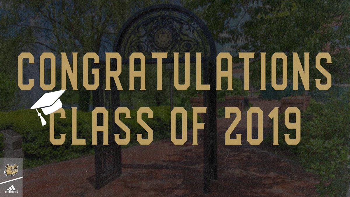 Congratulations to the @BryantUniv Class of 2019!   #GoBryant #GoBooksGoBulldogs #BryantGrad2019