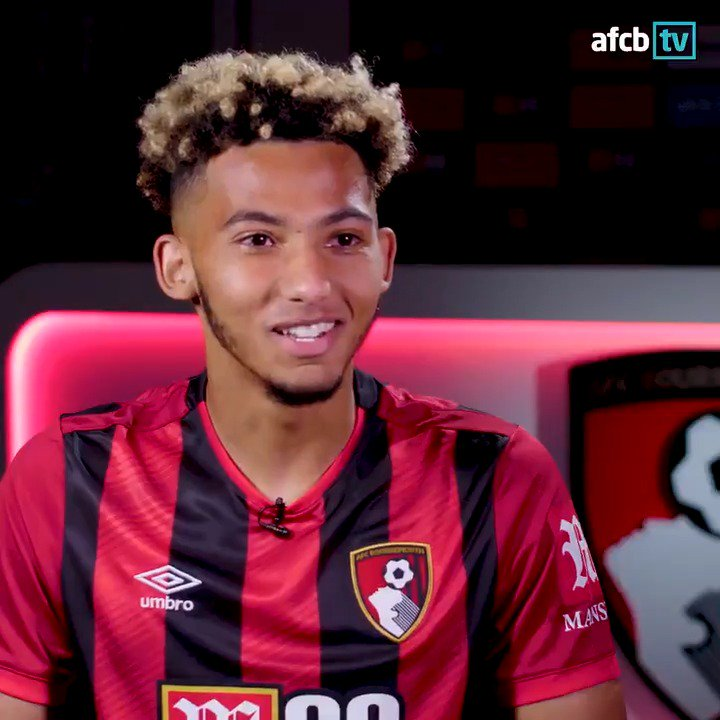 🤝 Meeting the manager 📈 Stepping up to the @premierleague 💨 A whirlwind 24 hours @lloydkelly4 speaks to afcbTV after becoming our first signing of the summer transfer window. Watch in full 📺: bit.ly/kelly-first-int #afcb 🍒