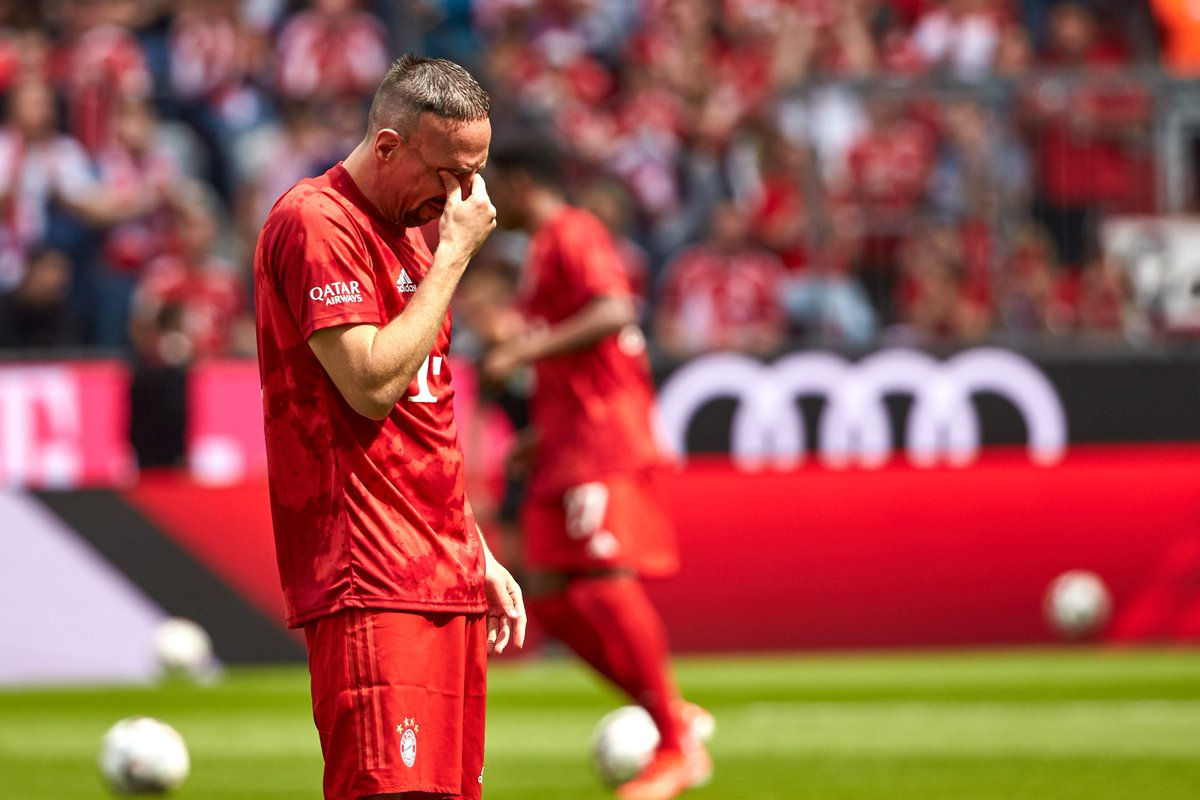 Ribery—12 years, 423 games, 22 trophies Robben—10 years, 307 games, 18 trophiesTwo Bayern legends say farewell.