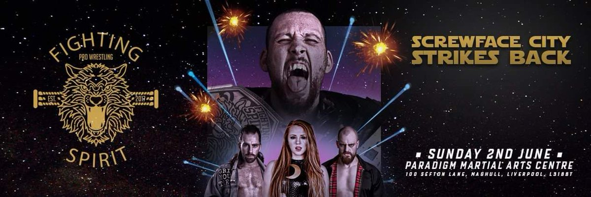 WE RETURN TO MAGHULL! WWE NXT UK Star Isla Dawn will be in action on SUNDAY 2ND JUNE! But, who will she face? Tickets; https://buff.ly/2vYnFr0