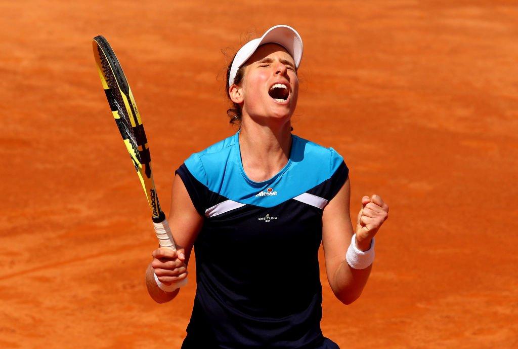 British number one Johanna Konta is through to the final of the Italian Open https://bbc.in/2YHVTeX#bbctennis #ChangeTheGame
