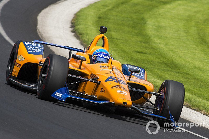 Alonso tops six-car final practice before qualifying - tinyurl.com/y68xbtjw #Indy500 @IMS @IndyCar