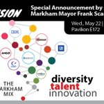 Image for the Tweet beginning: As Canada's High-Tech Capital, Markham