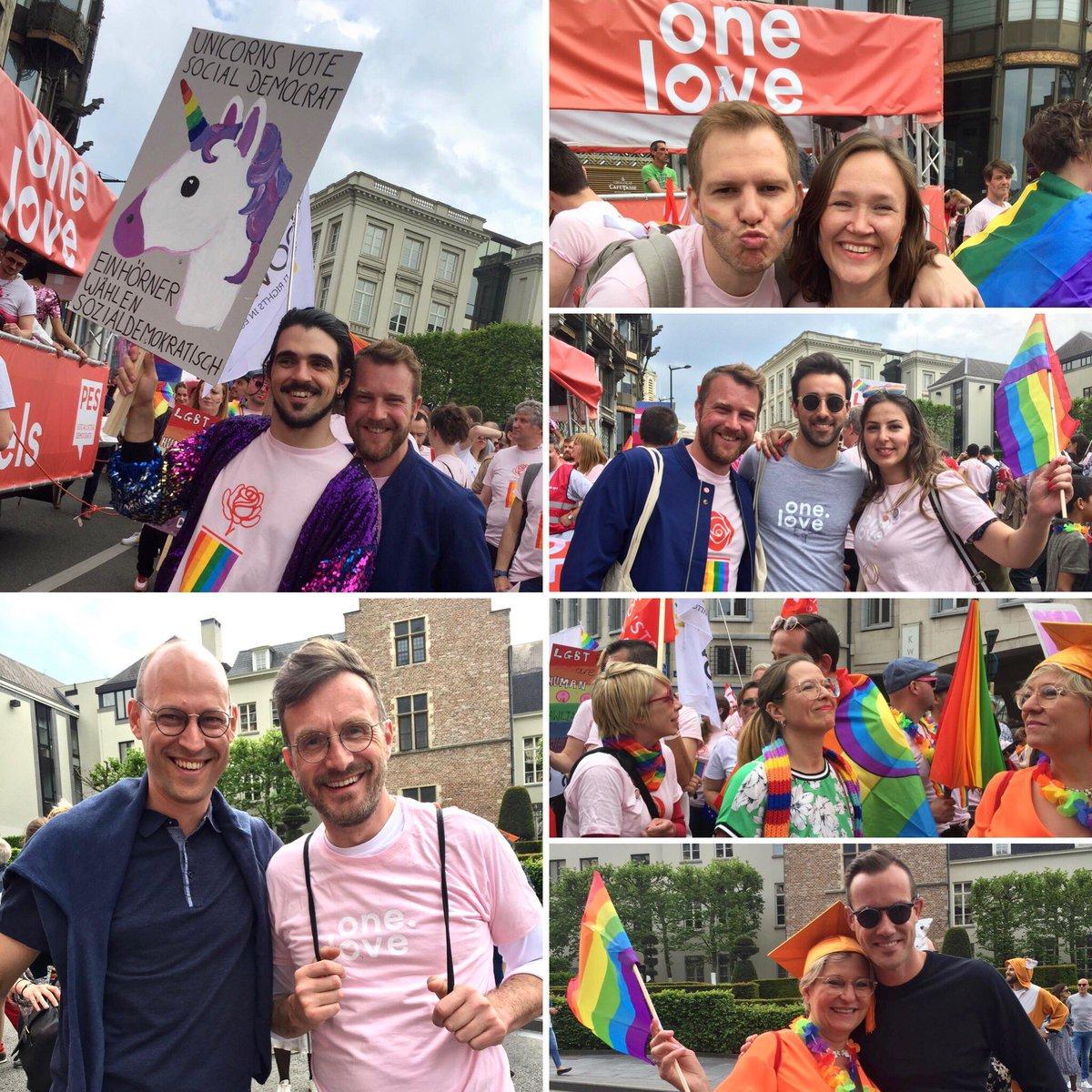 De strijd om liefde voeren we samen. #AllforLove #BelgianPride