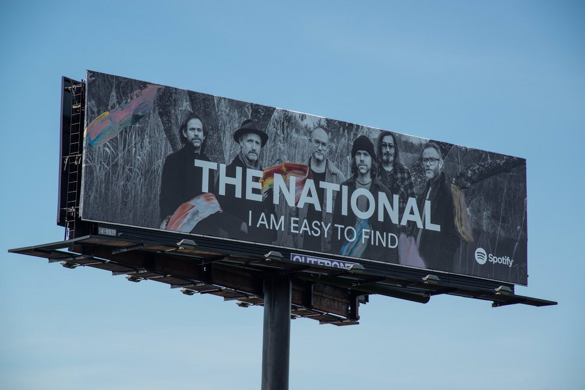 Check out I Am Easy To Find on @Spotify thenational.ffm.to/iaetf/spotify