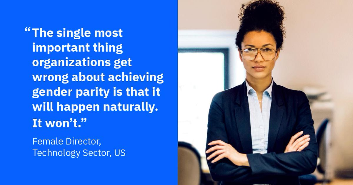 We surveyed 2,300 companies around the world. Few say advancing women into leadership positions is a formal business priority. That must change. Here's why:  https:// ibm.co/womenleaders  &nbsp;   #BeEqual #IWD2019 @IBMIBV<br>http://pic.twitter.com/KDFOgan8w9
