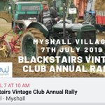 Image for the Tweet beginning: The 12th annual #Blackstairs #vintage