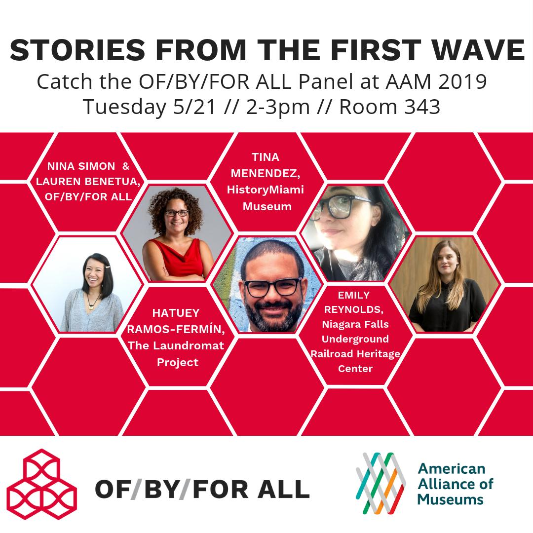 I'll be there - this'll be one of the key conversations at #AAM2019 for those of us who care about #inclusion and #relevance in #museums. And that's...everybody, right?