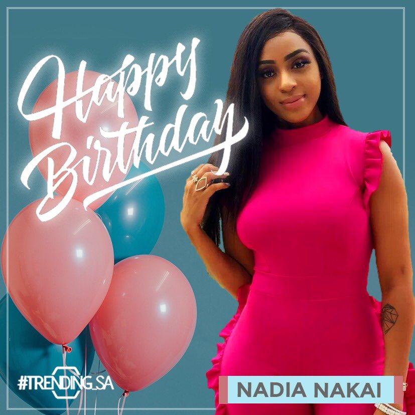 Happy birthday @Nadia_nakai 🎂🎈🎊🎉🎁 #tsaon3 #tsaonline