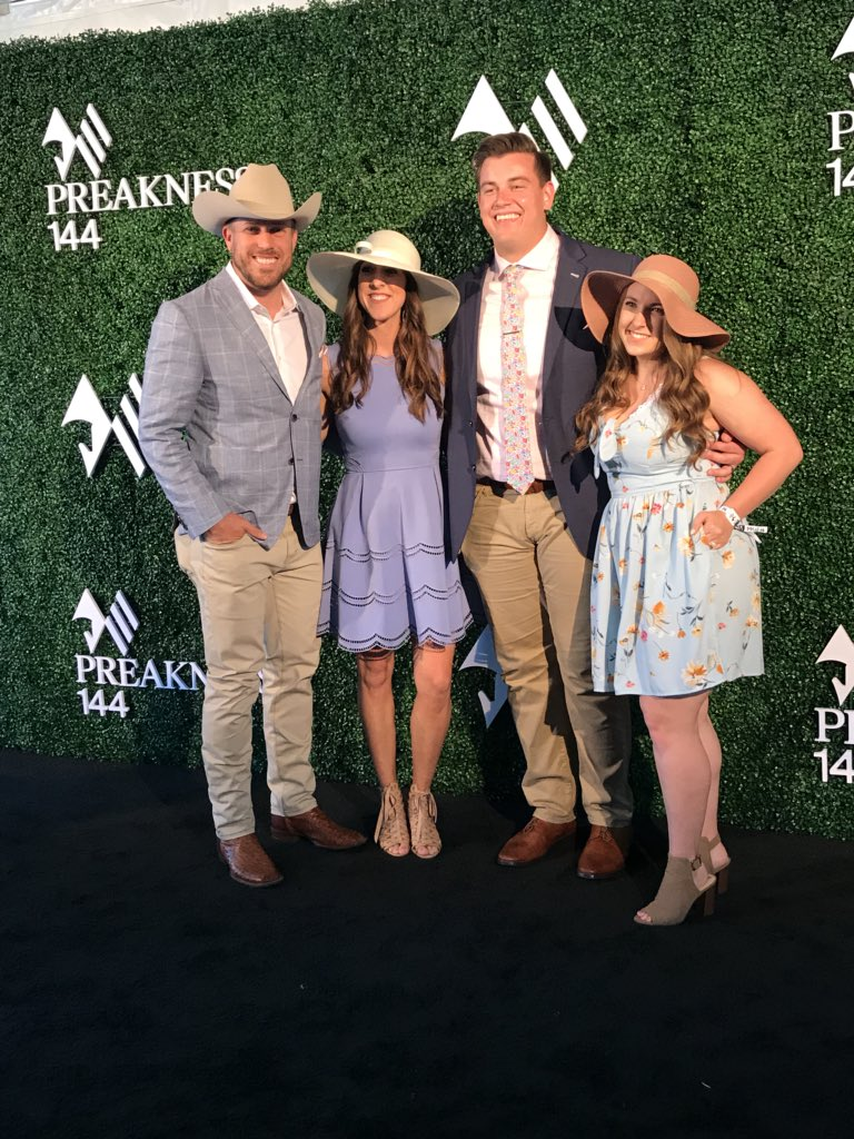 Saturday at the #PreaknessStakes #HTTR