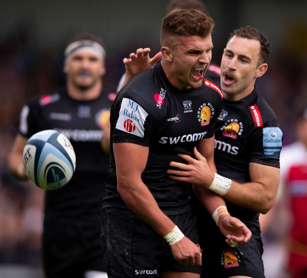 The line up for this season's @premrugby play-offs has been confirmed.Round-up following the final round of games: https://bbc.in/2WQKrgd#bbcrugby