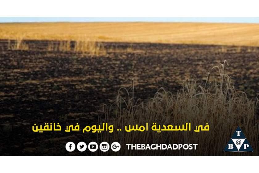 After a wet season and good harvest record, mysterious fires hit 4 provinces. IS #Iraq a blessed or cursed nation?#Iran#لا_لحرب_في_العراق#العراق   #KSA #Kurdistan #Qatar #Kuwait #Egypt @UNIraq #Syria #Jordan #Bahrain #كردستان #سوريا #قطر #السعودية #الامارات #مصر #الأردن
