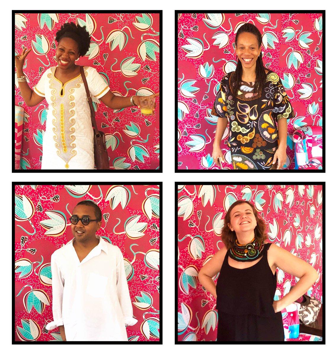 Petit tour par le #Café de la #FondationZinsou au #MuséeOuidah, endroit parfait pour se faire #photographier ! Et vous ? Un joli #portrait à nous montrer ? 📸#team229 #PhotoMW #MuseumWeek @nanawax @floracoquerel @McZinsou #Ouidah