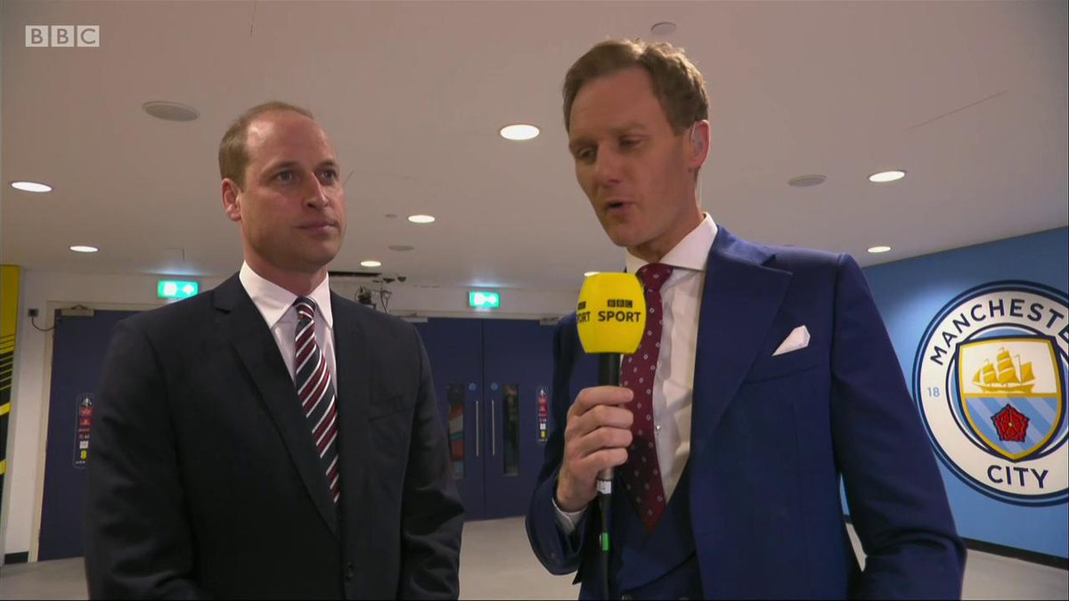 Match of the Day's photo on Prince William