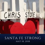 Santa Fe, my prayers are with you today. We will never forget. #SantaFeStrong
