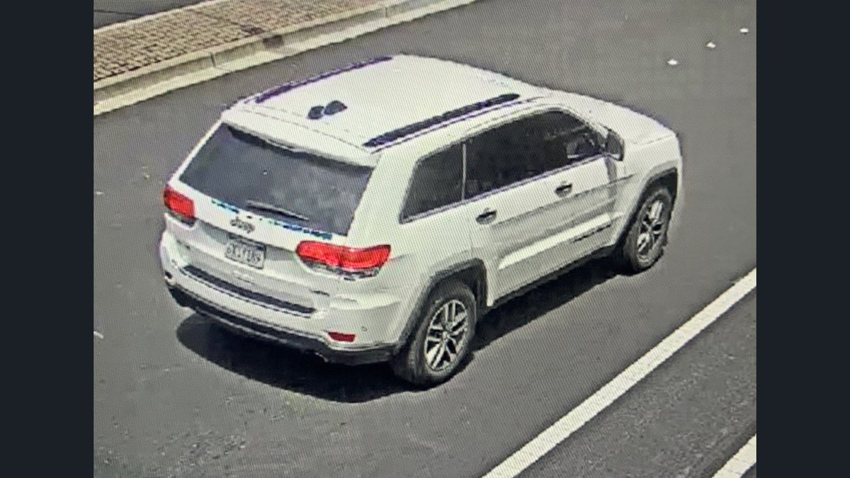 Seen this Jeep Grand Cherokee? It's been linked to home & burglaries in the Bay Area, per @DublinCAPolice. The plates on it have included 6XSY189 & 7ZWW368