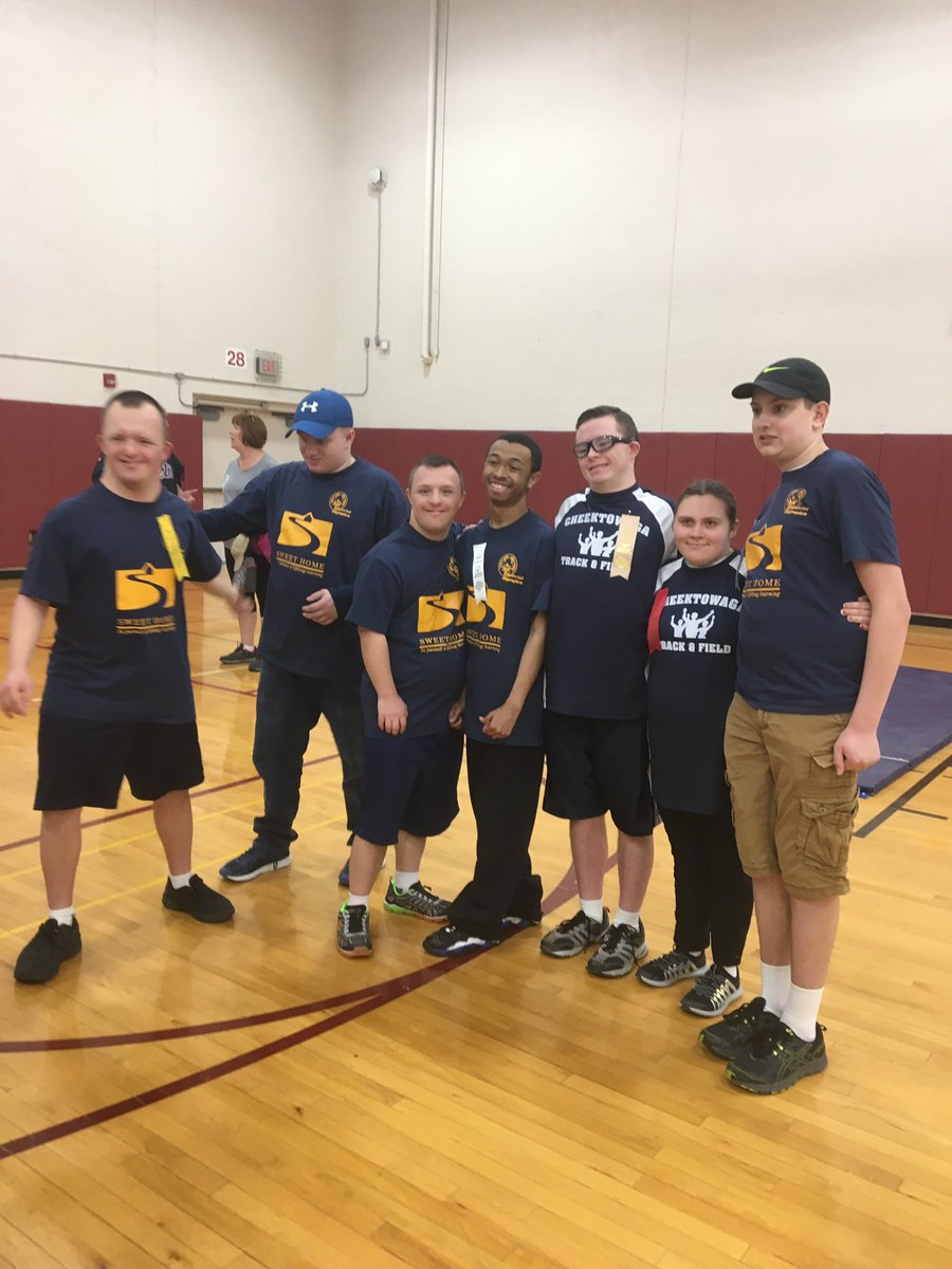 Sweet Home crew at Special Olympics today!